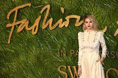 December 4: Selena at the Fashion Awards in London