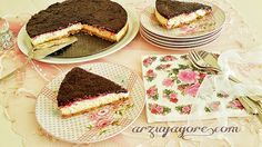BÖĞÜRTLENLİ ÇİZKEK  BLACKBERRİES CHEESECAKE  PicsArt_1413413119683