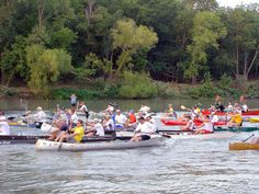 Colorado River 100 Canoe Race  by BastropTXEDC, via Flickr