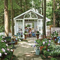 Backyard Escape: Romantic Conservatory | Cozy Backyard Escape | SouthernLiving.com
