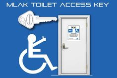 Maintaining facilities for people with disability is crucial, and a key system can provide access while protecting these facilities from misuse.