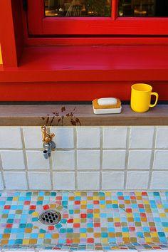 Home made kitchen sink