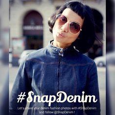 SnapDenim Contest2015 Let's entry your denim photo with #SnapDenim  #denim #fashion #contest #snap#jeanshttp://ift.tt/1PEs8Vk