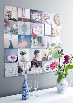 décoration murale, décoration personnalisée, photo sur les murs, Lovely Market