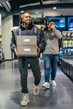 Kanye West Shoes January 2017