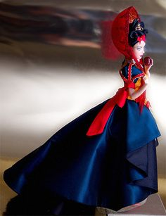 Snow White ooak barbie by idrusa ♥ SineVoce ♥, via Flickr