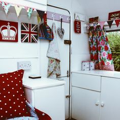 Vintage Caravan - Lola Front Door by PJR Photography, via Flickr