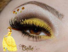 Maquillaje inspirado en la bella y la bestia.