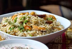 Gattey ka pulao: a flavorful rice preparation from the Marwadi cuisine