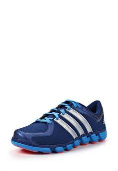 Кроссовки adidas Performance мужские. Цвет: синий. Материал: искусственная кожа, искусственный нубук. Сезон: Весна-лето 2014. С бесплатной доставкой и примеркой на Lamoda. http://j.mp/1l4fgnO