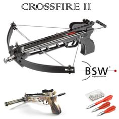 CROSSFIRE II Compound Pistolenarmbrust - 80 lbs -...