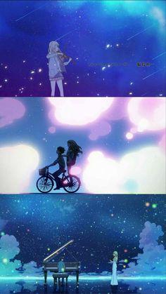 Kaori Miyazono and Kousei Arima - Shigatsu-Wa-Kimi-No-Uso (Your Lie In April)