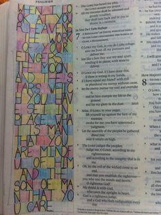 Bible journal 14/08/15