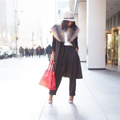 InStyle's Kahlana Barfield hitting the streets of NYC