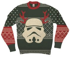 Commemorate your favorite cult classic with an awesome Star Wars Stormtrooper With Reindeer Antlers Adult Green Ugly Christmas Sweater . Free shipping on Ugly Christmas Sweaters orders over $50.