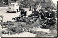 Kumkapı da Balıkçılar 1970