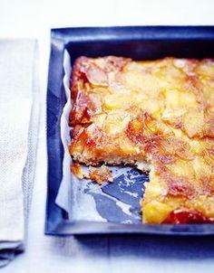 Financier aux pommes caramélisées pour 6 personnes - Recettes Elle à Table
