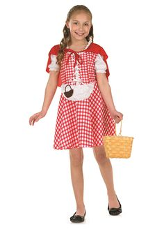Red Riding Hood childrens dress up costume by Fun Shack