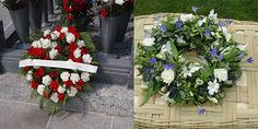 Send sympathy wreath to funeral ceremony.  #sympathtywreath #Funeralceremony