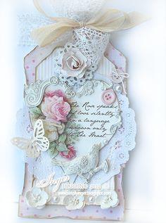 Inger Harding: A Rose . .  Beautiful Tag!!!