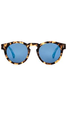 Shop for illesteva Leonard in Tortoise & Blue Mirrored at REVOLVE. Free 2-3 day shipping and returns, 30 day price match guarantee.