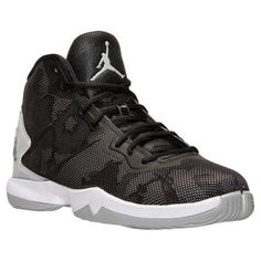 8c61ae961790 768929-007 Nike Air Jordan Super.Fly 4 Blk Grey Infrared SIZE 9