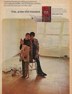 cigarettes = uncool  vintage cigarette ads = super cool