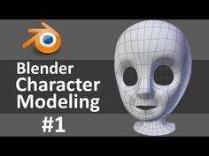 Blender Character Modeling - YouTube