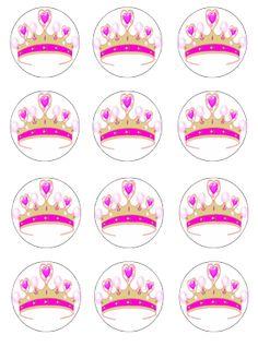 Princess cupcake toppers (12)
