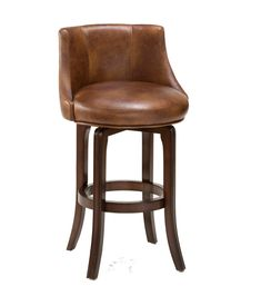Hillsdale Furniture?s Napa Valley swivel stools are the essence of transitional design with sturdy tapered legs and fully-upholstered barrel style back. Constructed of solid wood with Veneer and finished in a rich dark brown cherry, the Napa Valley is available in your choice of 4 fabrics.