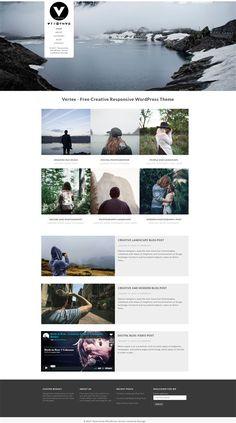 Vertex Free Responsive WordPress Theme