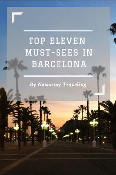 The top things to do and see in Barcelona, everything you need to know about visiting this *other* capital of Spain.