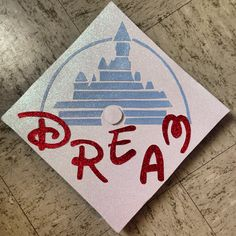 Ta-da! My graduation cap!