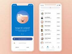 Contact Sharing - Concept App