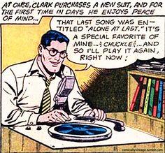 Clark Kent Super Record Fan