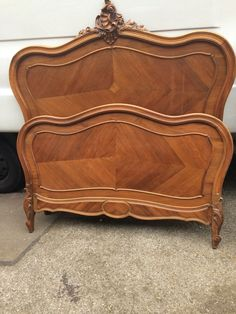 Antique French Bed Rococo Shabby Chic  uk.picclick.com