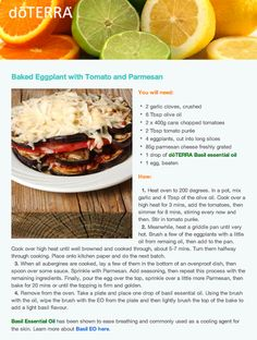 Baked Eggplant with