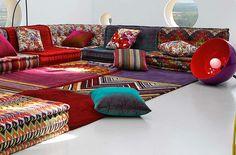 Roche Bobois Mah Jong modular sofa