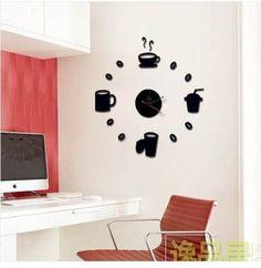 relógio parede cozinha grande personalizado sala