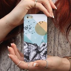 Sun Over The Mountains iPhone Four And Five Case - notonthehighstreet.com