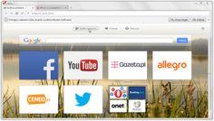 Opera – popularna na całym świecie, wieloplatformowa przeglądarka internetowa, a właściwie pakiet internetowy, którego jednym z elementów jest przeglądarka.
