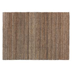 HURST Large brown jute rug 160 x 230cm | Buy now at Habitat UK