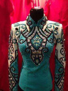 Show outfit geschikt voor western onderdelen zoals Western Pleasure en Western Horsemanship. Gemaakt door Lindsey James Show Clothing