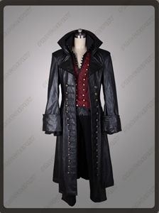 Show details for  Once Upon a Time Killian Jones Captain Hook Cosplay Costume