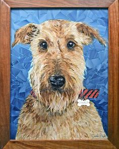 Mosaic Animals, Mosaic Crafts, Tile Art, Dog Art, Craft Gifts, Stained Glass, Collage, Pets, Inspiration