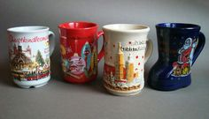 ART & INSPIRATION: Collecting - Gluhwein Mugs From The German Christmas Markets
