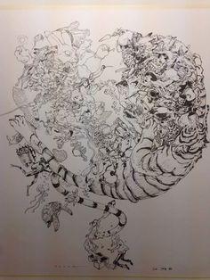 "@kimjunggidirect: Tribute to Jean ""Mœbius"" Giraud by two of his greatest fans : Terada Katsuya & Kim Jung Gi @katsuyaterada #kimjunggi #kaikaikiki #livdrawing #instaart #proartists #drawing #sketchingdeity"