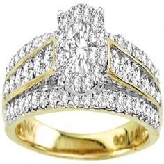 Yellow Gold Halo Shape Style With Round Diamonds Engagement Ring RG&D is a unique collection of Wedding Rings, Engagement Rings, Fashion Rings, Gold Chains, Pendants and jewelry for men. Unique Diamond Rings, Round Diamond Engagement Rings, Solitaire Engagement, Man Made Diamonds, Diamonds And Gold, Round Diamonds, Bridal Rings, Wedding Rings, Fashion Rings