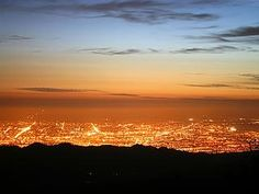 I love looking at City lights - spent many nights up in the foothills just starting...  (photo is San Jose, CA - not mine)