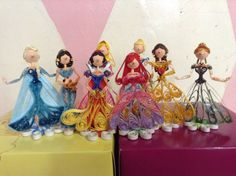 Paper Quilled Disney Princesses